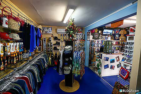 Go West Diving Retail and gift shop