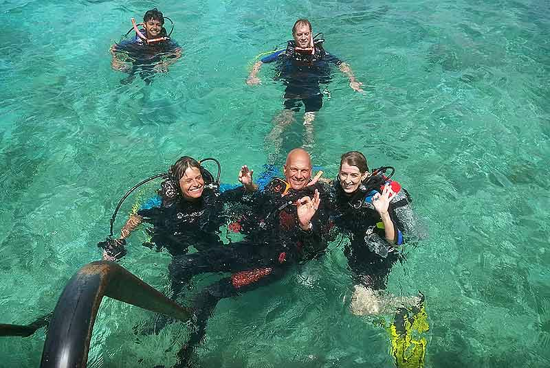 go west diving open water certification course