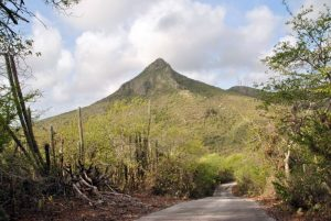 Christoffel Mountain in the Park Curacao