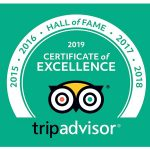 2019 TripAdvisor Hall of Fame Award