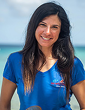 Dive Instructor Jill Pellegrini