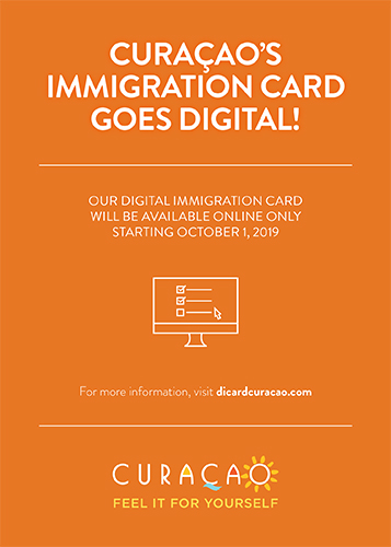 Curacao immigration Card